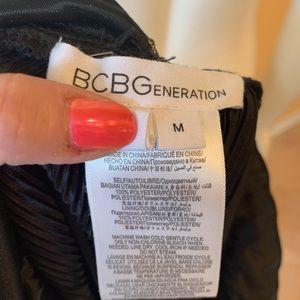 BCBG Metallic Dress